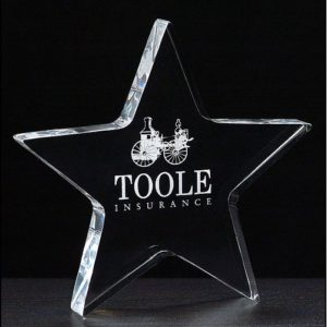 acrylic-star